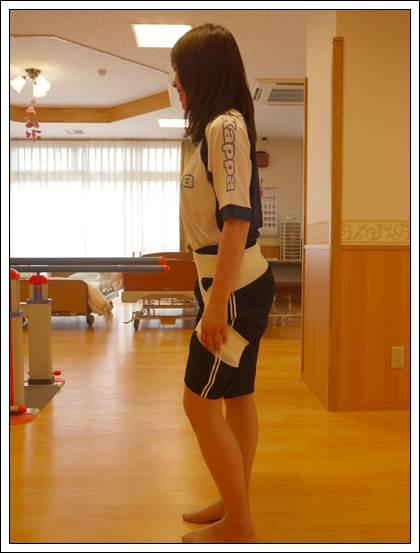 左股関節のテーピング4