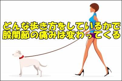 股関節に可動域制限があると歩行は大きく変わり痛みは増える