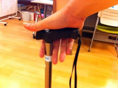 杖の握り1
