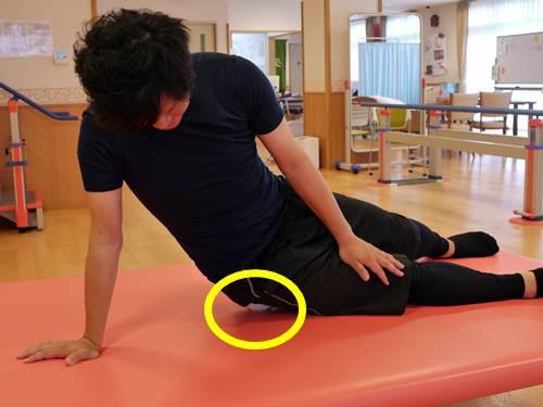 股関節外旋筋のストレッチ10
