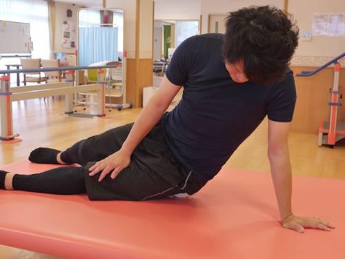 大腿筋膜張筋骨模型ダイレクトストレッチ10