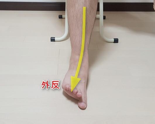 足関節外反1