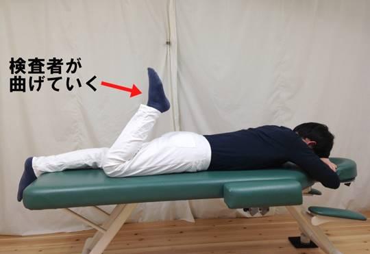 大腿直筋の短縮を判定する検査方法をご紹介します!4